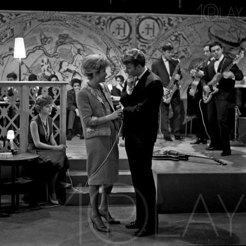 1960' Johnny Hallyday-Display-productions.com- Tele Jacqueline-Joubert