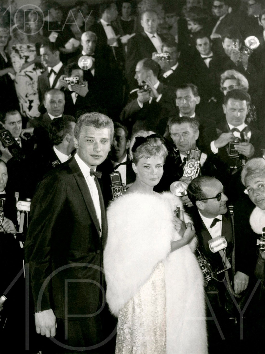 1962 Johnny Hallyday-Display-productions.com- Festiival Cannes