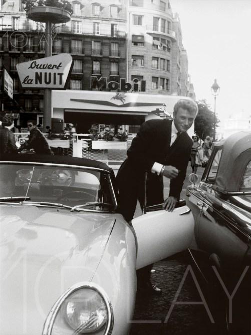 1962 Johnny Hallyday-Display-productions.com--Jaguar-E Mobil