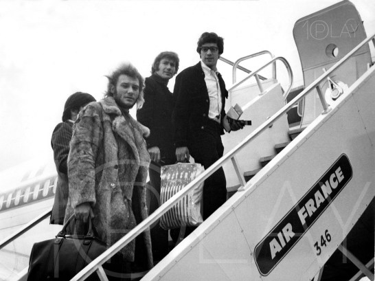 1970' Johnny Hallyday-Display-productions.com--Air France fourrure