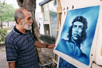 Alberto Korda_tableau Che Guevara-Cuba©Patrice Gaulupeau_DisPlayProductions