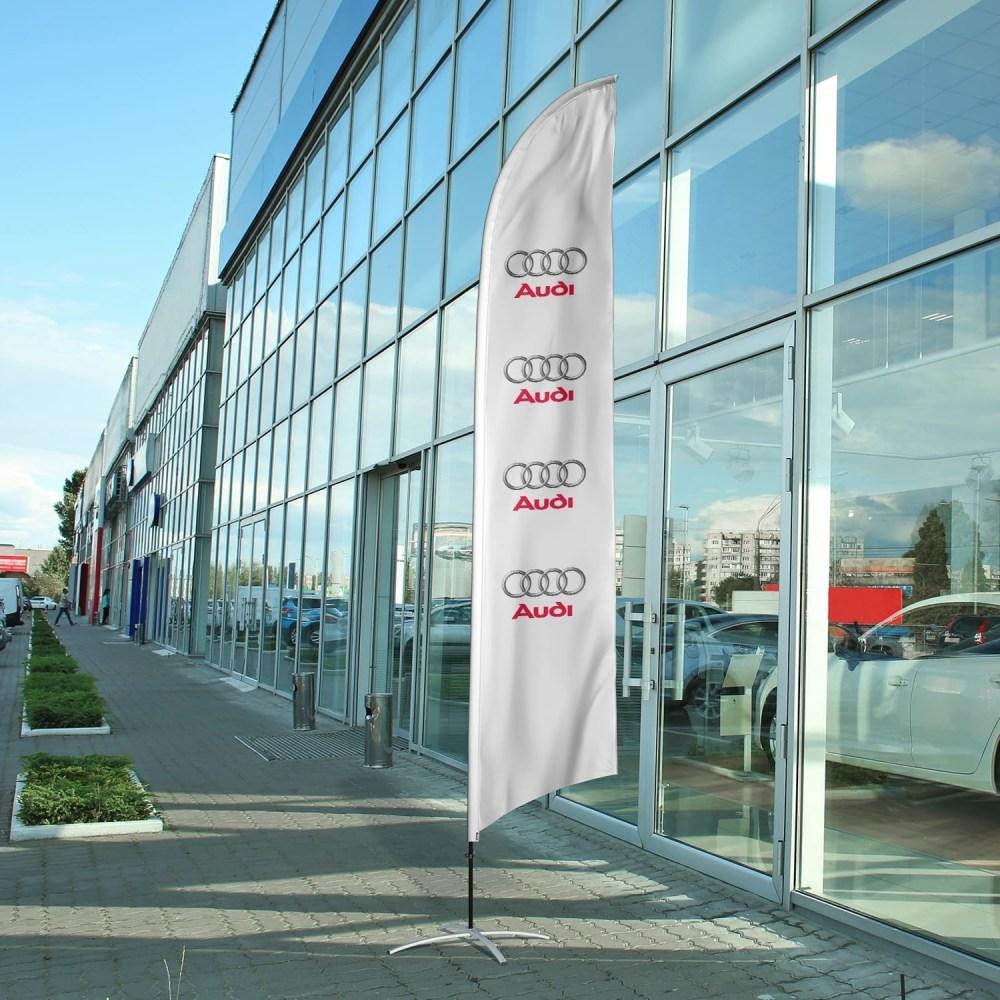 auto-dealership-flag-audi