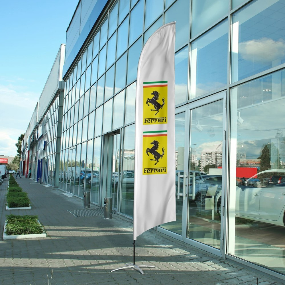auto-dealership-flag-ferrari