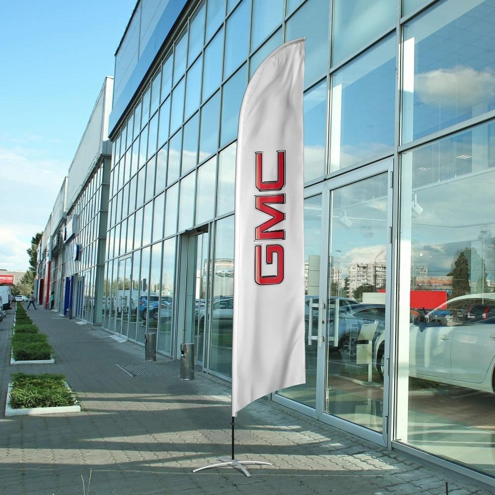 auto-dealership-flag-gmc
