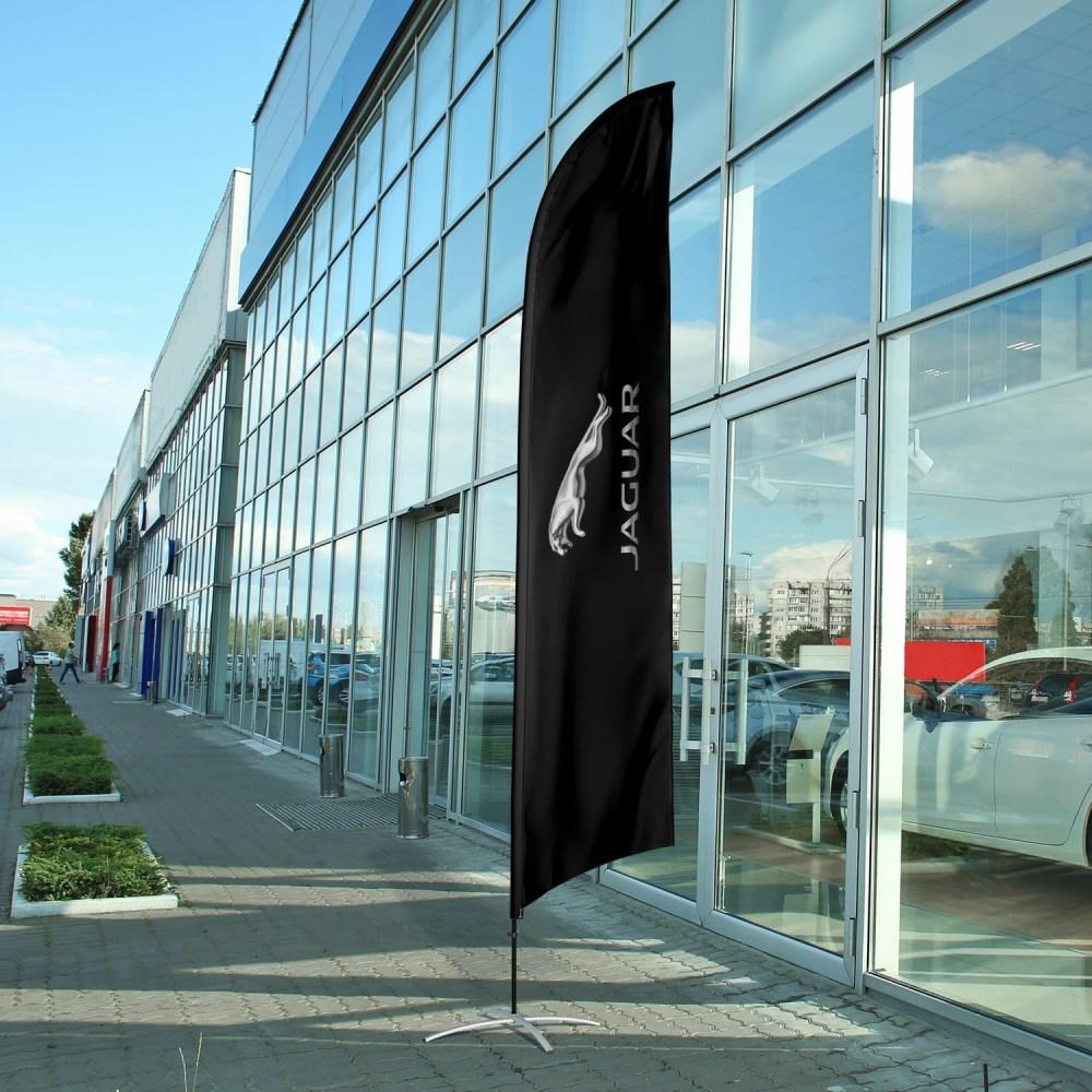 auto-dealership-flag-jaguar