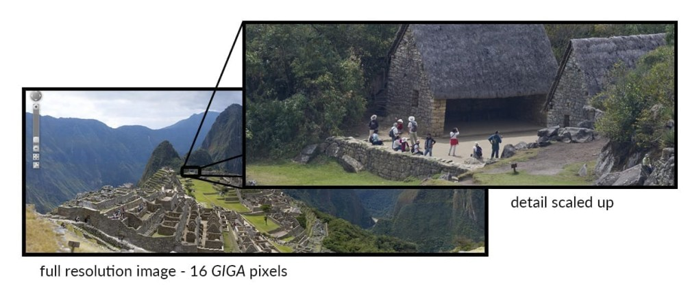 large format image of machu picchu