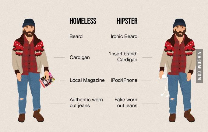 9Gag Hipster