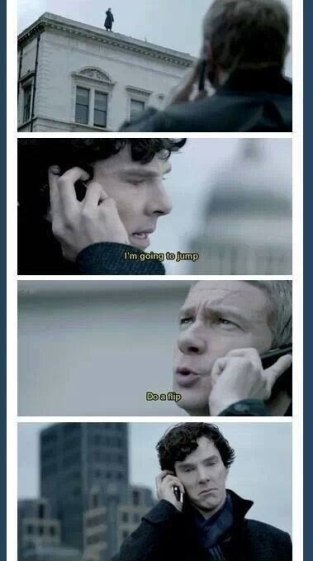 Sherlocks Sturz