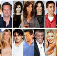 "Antes e Depois - O elenco de ""Friends"" #Then and Now Friends Casting"