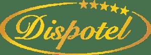 Dispotel, sous-traitance hôtelière, logo Dispotel or