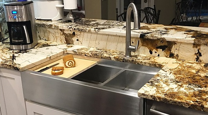 space needed behind a sink for a faucet