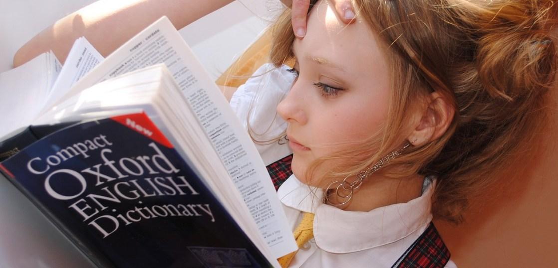 辞書の少女
