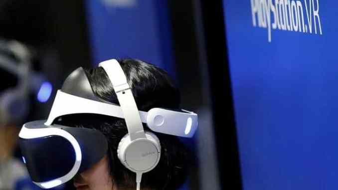sony virtual reality