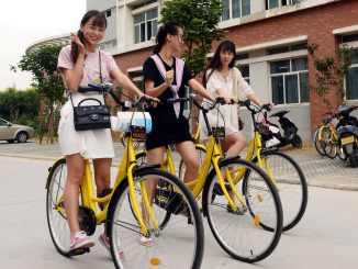 China smart bikes