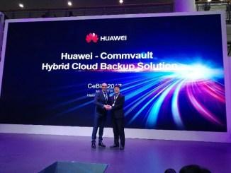 Huawei Commvault hybrid cloud