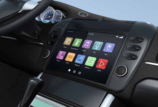 connected car dashboard mirrorlink