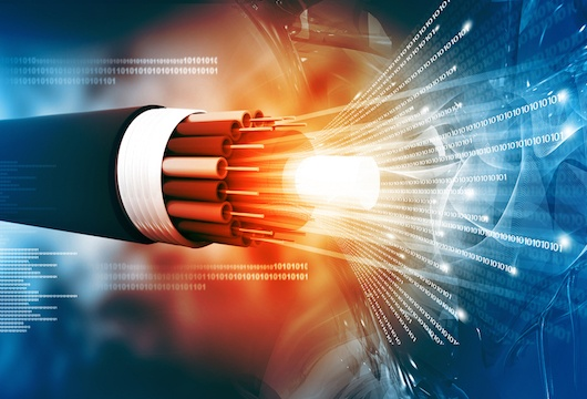 subsea fiber optic cable dark fiber earthquake