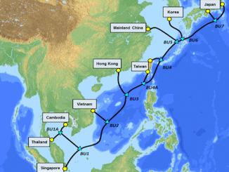 Southeast Asia-Japan 2 (SJC2) submarine cable