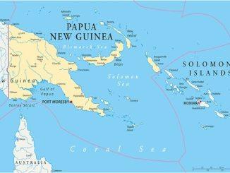 australia Papua New Guinea Solomon Islands