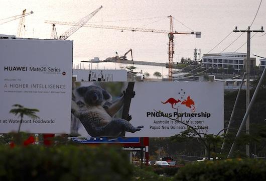 PNG huawei infrastructure papua new guinea