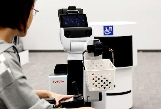 Toyota home robots