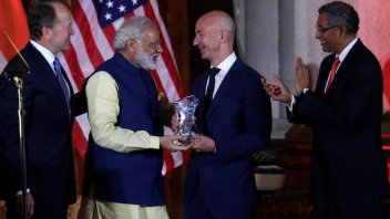 Bezos commits to $3 billion more for India