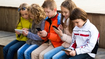 It is worrying how many hours a day kids spend on devices