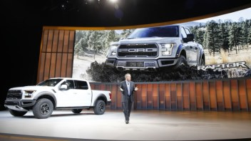 US love affair with big trucks means car industry at a cross roads