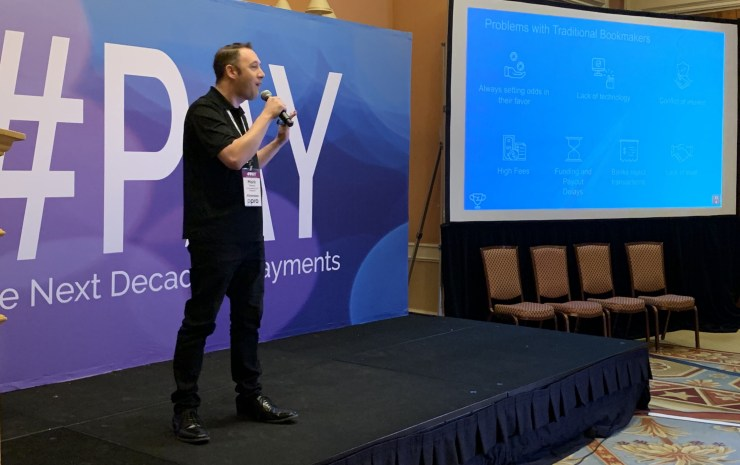 Mark Thomas, Co-Founder & CEO, ZenSports pitches at the #PAY Fintech Startup Showcase