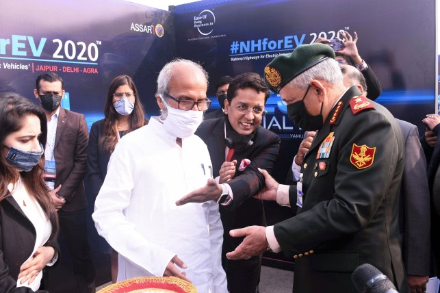 Still from India Gate – Agra TECH Trial Run Ceremony