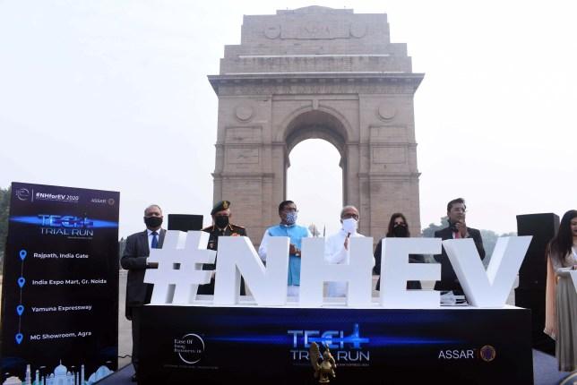 NHEV TECH Trial Run inaugural ceremony