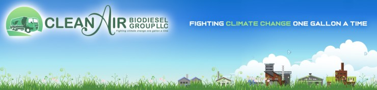 Clean Air Biodiesel Group - Fighting Climate Change, One Gallon At A Time - Columbus Ohio
