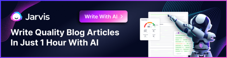 write blogs with jarvis.ai
