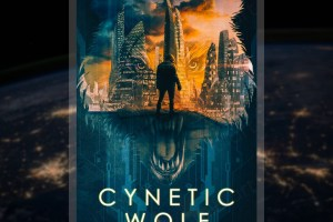 cynetic wolf dystopian sci fi