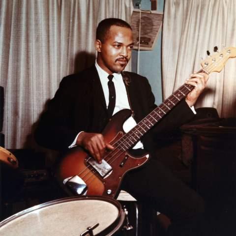 James Jamerson Sr. playing bass