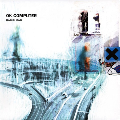 OK Computer by Radiohead album cover
