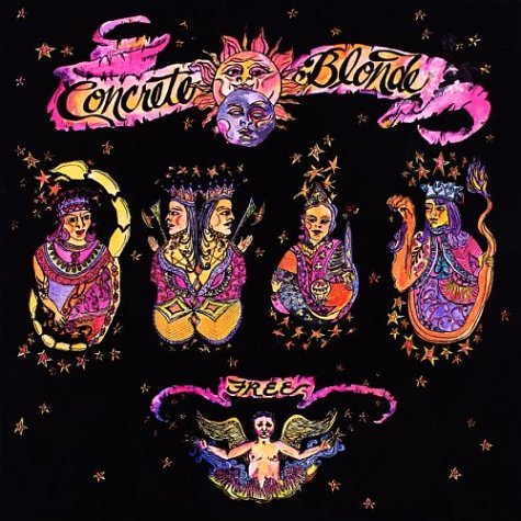 Album cover: Concrete Blonde's Free