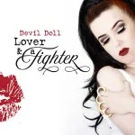 "Devil Doll ""Lover & a Fighter"" album cover"