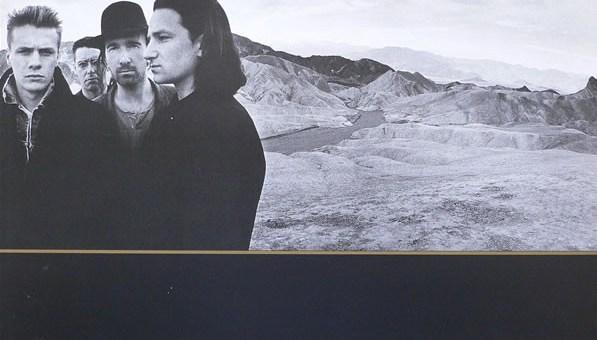 "U2 ""The Joshua Tree"" album cover"
