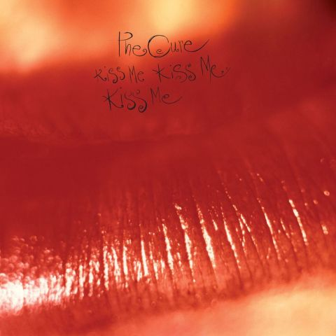"""Kiss Me Kiss Me Kiss Me "" album cover by The Cure"