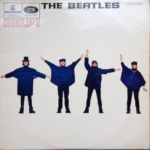 """Help!"" album cover (Parlophone version)"
