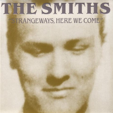 """Strangeways, Here we Come"" by the Smiths (album cover)"