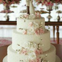 Bolos decorados de casamento, com fotos lindas