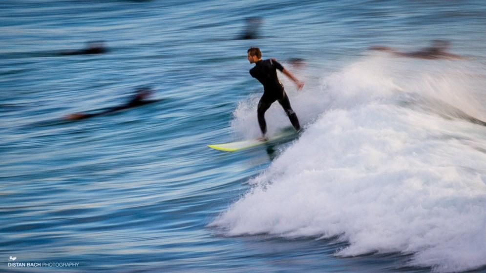 Smeared surfer