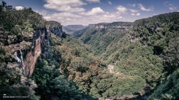 Fitzroy Falls pano - split-toned
