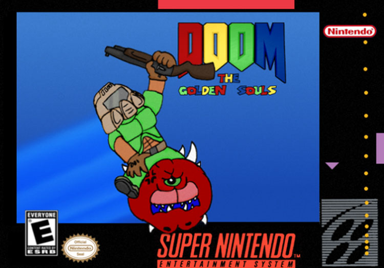 'DOOM' Meets 'Super Mario 64′ In Awesome-Looking New Mod