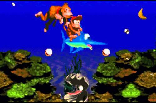"Donkey Kong Country, ""Aquatic Ambience"""