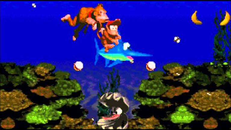 "Donkey Kong Country, ""Aquatic Ambience"""