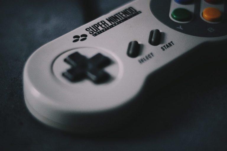 A SNES controller