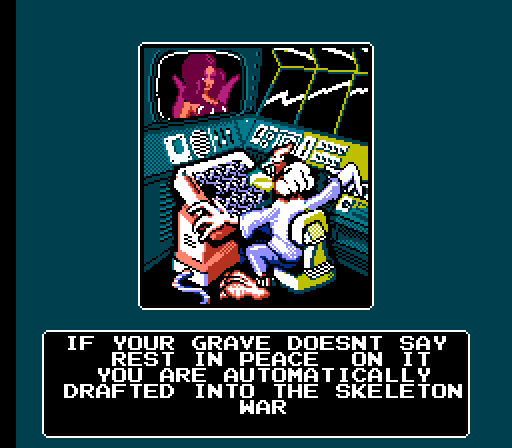 battletoads dril meme that says if your grave doesn't say rest in peace on it you are automatically drafted into the skeleton war